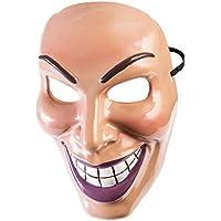Forum Novelties X79189 Evil Grin Mask Male, Mens, Multi-Colour, One Size