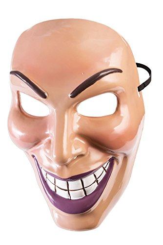 (Forum Novelties x79189Evil Grin Maske männlich, Herren, Mehrfarbig, One Size)