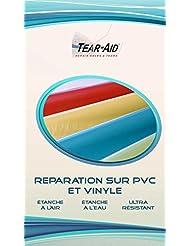Tear-Aid Kit de reparación instantánea y sin pegamento de chaquetas, lonas, juguetes