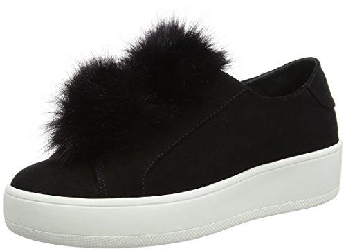 Steve Madden Footwear Damen Bryanne Slip-On Sneaker, Schwarz (Black), 38 EU (Schuhe Slip On Steve Madden)