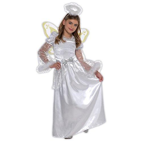Kinder Kostüm Größe Halo - Weihnachten Engel Kinder Kostüm 6-8 Jahre alt - Christys