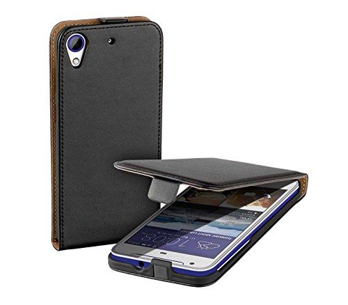 yayago Flip Tasche für HTC Desire 626 / Deisre 628 / 626 G Dual Hülle Flip Case Schwarz