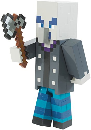 Minecraft Mattel - FVG23 Chopping Vindicator - Actionfigur