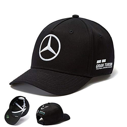 Preisvergleich Produktbild Ford 2018 Mercedes-AMG F1 Lewis Hamilton Drivers Cap (schwarz) Einheitsgröße für Erwachsene