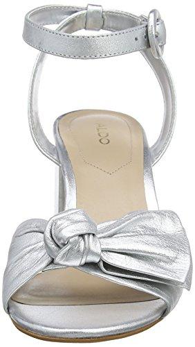 Aldo - Beautie, Strap alla caviglia Donna Silver (Silver)