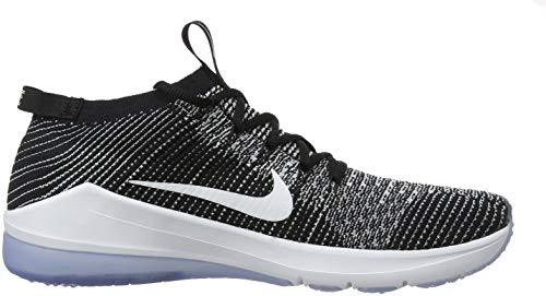 Nike Air Zoom Fearless Flyknit 2, Zapatillas de Gimnasia para Mujer, Negro (Black/White 001), 38 EU