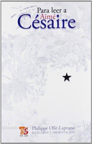 Portada del libro Para Leer a Aime Cesaire (Tezontle)