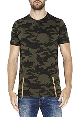 Brave Soul - T-shirt - Homme vert Green - vert - Small