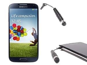 Mini Stylet avec cordon d'attache solide pour écran de smartphone Samsung Galaxy S4 (I9500) S4 Mini (i9190) & S5 (SM-G900F) - Garantie 5 ans