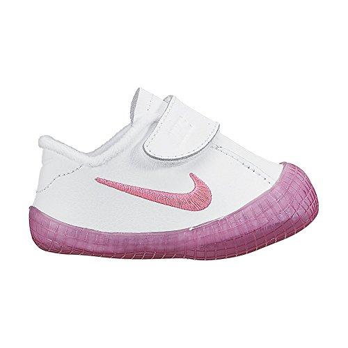 Nike Unisex Baby Waffle 1 (cbv) Hausschuhe, White/Pink Pow 102, 19.5 EU