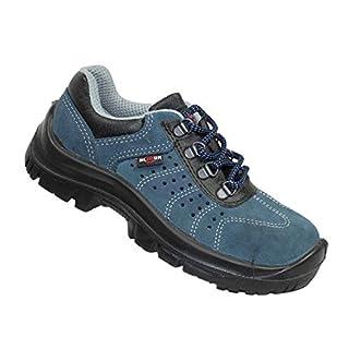 Almar Arco S1P SRC Safety Shoes Work Shoes Professional Shoes Flat B-Ware, Size:44 EU Blue