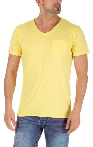 Selected-T-Shirt Herren Goldfinch