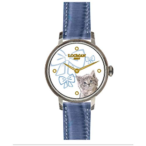 Reloj Solo Tiempo niño Locman 1960 clásico cód. F253A08S-00WHGA2PS