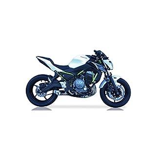 IXIL Hyperlow black XL Edelstahl-Komplettanlage für Kawasaki Z 650, 17- (Euro4)