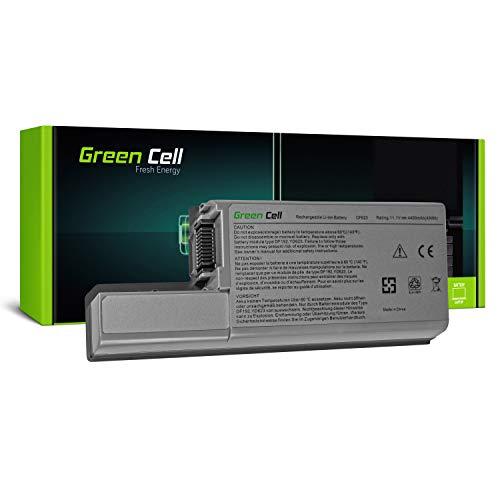 Green Cell CF623 DF192 Standard Serie Laptop Akku für Dell Latitude D820 D820 D531 Dell Precision M65 M4300 (6 Zellen 4400mAh 11.1V Silber)