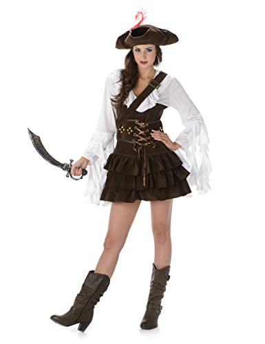 Costume da pirata donna Small