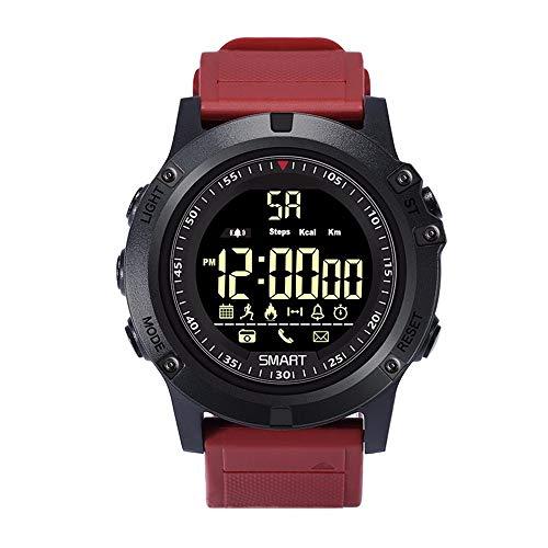LRWEY Fitness Armband mit Pulsmesser, EX17S IP67 Wasserdichter Bluetooth-Sport Smart Watch-Telefonkamerad, Für iOS Android