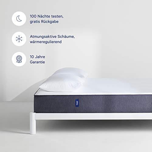 CASPER - Die Matratze Deines Lebens |Hochwertige, bequeme Matratze mit konstant angenehm kühler Temperatur | Atmungsaktiv und in modernem Design | 160x200 cm