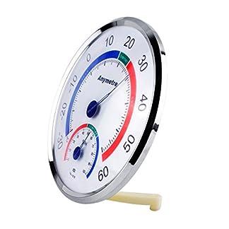 Termómetro – higrómetro Temperatura / Humedad de Control de Clima en blanco PRECORN marca