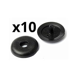 Autoparts - 10x Stopp-Taste Sicherheitsgurt Kunststoff allgemein