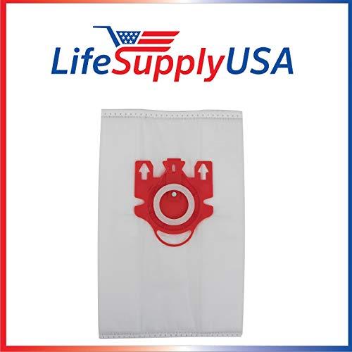 LifeSupplyUSA 4Pack Vakuum Bag Set beinhaltet 1Motor und 1Air Filter für Miele F, J, M by - Kanister-vakuum Motor