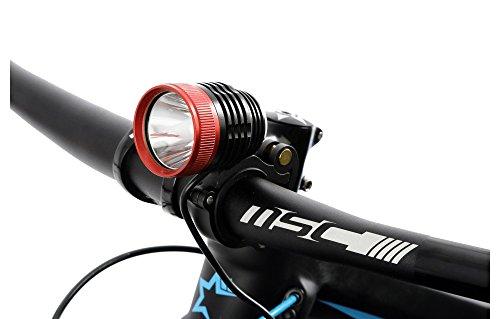 MSC Lumens - Luz de Ciclismo, Color Negro, Talla 1000 L