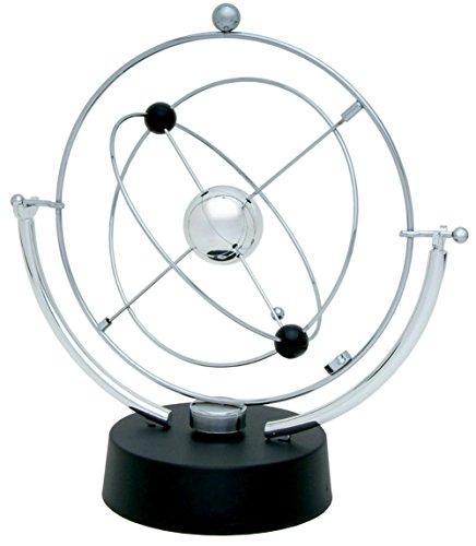 PROW® Simulation Milchstraße Ring Modell Elektronisch Perpetual Motion Spielzeug Das dynamische Gleichgewicht Instrument Beste Büro Desktop Dekoration (Silber) Motion Desktop