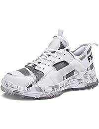 GJRRX Hombre Zapatillas Running Hombre Zapatillas Deportivas Hombre de Cordones en Gimnasio Zapatillas Running para Hombre Aire Libre y Deporte Transpirables Casual Zapatos Gimnasio 39-44