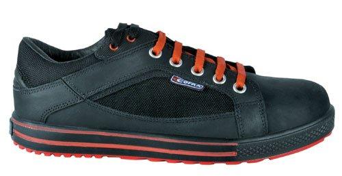 """Cofra 35110-000.W47 S3 SRC scarpe taglia 47 """"Draft"""", colore: nero/arancione Nero/Arancione"""
