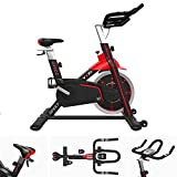 We R Sorts Indoor Studio Cycle Exercise Spin Bike Fitness Cardio Indoor Aerobic Spinning Bike Machine VXR1