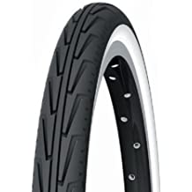 Michelin City'J - Cubierta, color negro, 600 A Confort