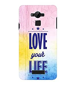 EPICCASE love towards life Mobile Back Case Cover For CoolPad Dazen Note 3 Lite (Designer Case)