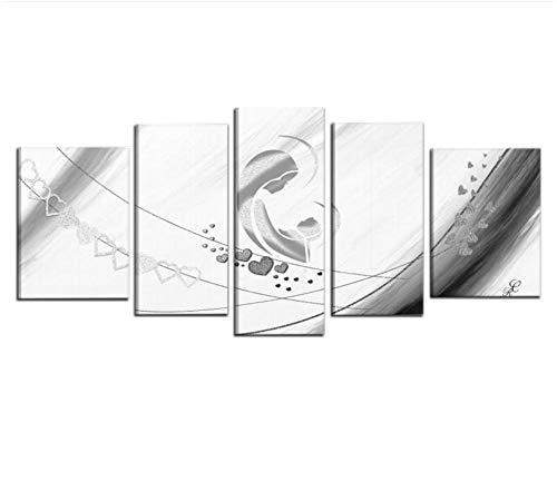 I colori del caribe quadri capezzali olio su tela dipinti a mano religiosi oggetti sacri bianco e grigio con glitter quadro capezzale per camere da letto alta qualita' made in italy - benedit