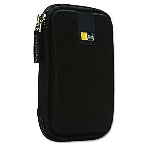 """Case Logic EHDC101K Housse de protection semi-rigide pour disque dur externe 2,5"""" Noir"""