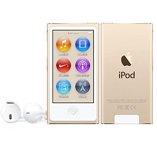 Apple 16GB iPod - MP4 - Gold - Digital - Aluminium - Flash-media - 16 GB (MKMX2PLA)