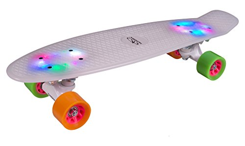 HUDORA 12134 - Skateboard Rainglow