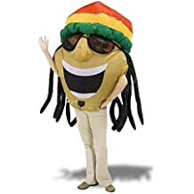 Rasta-uomo vestito costume gonfiabile rasta 80a760b4279b