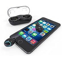 JianFei - Auriculares Bluetooth inalámbricos con Bluetooth, Color Blanco (h)