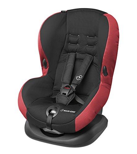 12 Monate Auto Sitz (Maxi-Cosi Priori SPS Plus Kindersitz mit optimalem Seitenaufprallschutz und 4 Sitz- und Ruhepositionen, pepper black, Gruppe 1 (ab 9 Monate bis ca. 4 Jahre, 9-18 kg))