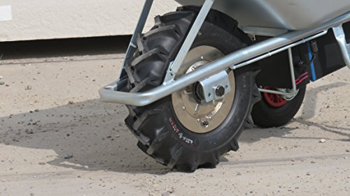 Motorschubkarre Elektroschubkarre E-PowerBarrow Heavy Duty pro 100l lithium - 4