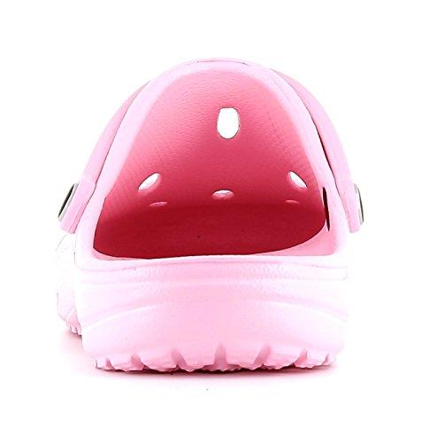 Chung Shi Dux Schuh-Kosmetik-Set 7903010 Unisex-Erwachsene Clogs & Pantoletten Rosa