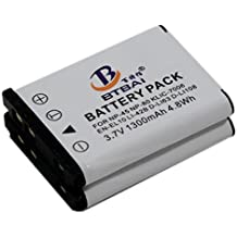 2x batería NP-45para FujiFilm NP45, NP-45A y NP45A NP-45B np45b NP-45S np45s np-45W FinePix JZ500JZ505, JZ700L30L50L55T200T300T305T310de T205T350T360T400T410T500T510T550T560XP10XP11XP15XP20XP22XP30XP31XP50XP60XP70xp90Z1000EXR Z100fd Z1010EXR Z10Z10fd Z110Z115Z100fd Z2000EXR Z200fd Z20fd Z20Z250FD Z30Z300Z31Z33WP Z35Z37Z70Z700EXR Z707EXR Z71Z80Z800EXR Z808EXR Z81, Z90, Z900EXR, Z909EXR Z91Z950EXR cámara