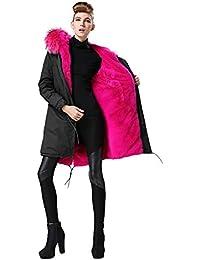 fourrure rose manteaux et blousons femme v tements. Black Bedroom Furniture Sets. Home Design Ideas