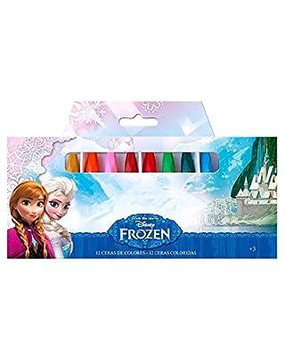 Disney Frozen- Blister Ceras Colores 0 (Astro Europa AS8977) por ASTRO EUROPA