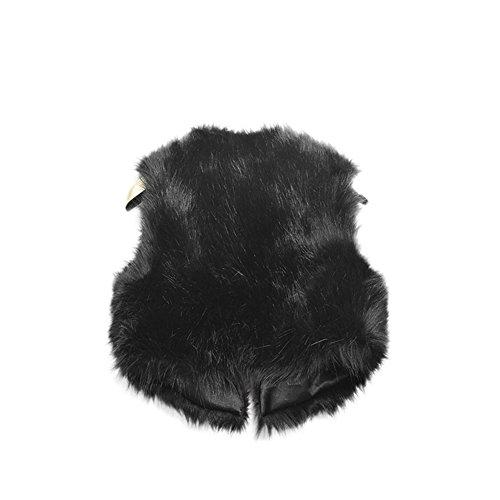 Vlunt Damen Mantel Schwarz