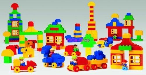 LEGO DUPLO Basis Set Stadt 9230 - 224 Elemente für Kinder ab 1 1/2 Jahren!