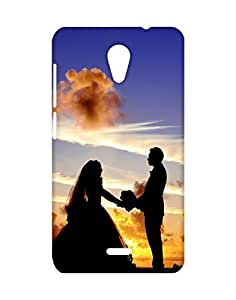 Mobifry Back case cover for Micromax A106 Unite 2 Mobile ( Printed design)