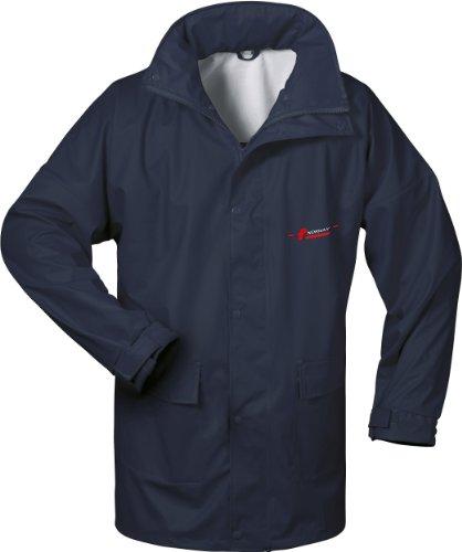 NORWAY PU Regen-Jacke mit Kapuze - marine - Größe: S