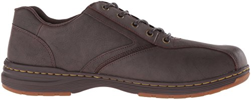 Dr.Martens Mens Greig Vancouver Leather Shoes Marron