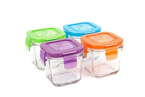 Wean Green Cubes Wean Jardin Sets de Conteneurs Alimentaires en